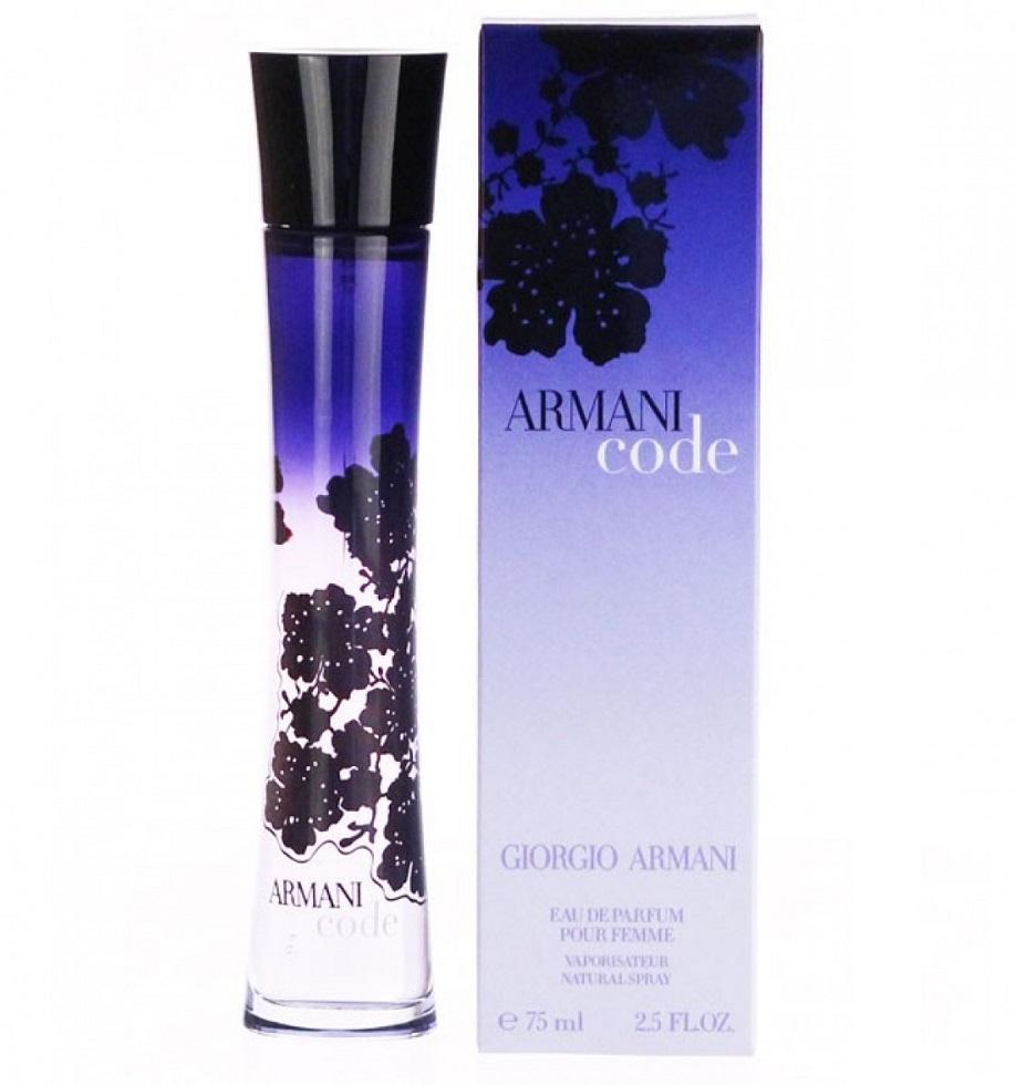Giorgio Armani Code Eau De Parfum For Women 75 Ml World Scenter
